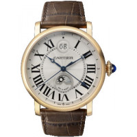 Cartier watches Large Date Secnd Time Zone