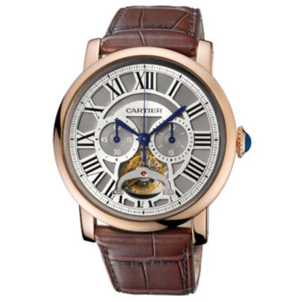 Cartier watches Tourbillon Single Push-Piece Chronograph Limited Edition 50