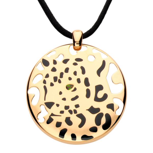 Подвеска Cartier Panthere de Cartier, желтое золото, драг. камни
