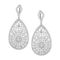 Серьги Loree Rodkin, белое золото 750, бриллианты