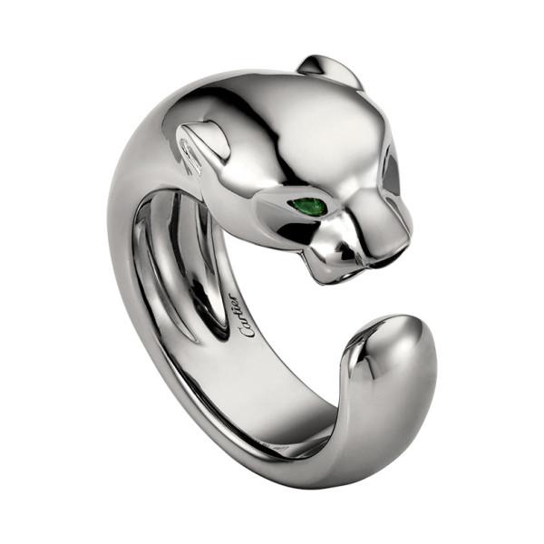 Кольцо Cartier Panthere de Cartier, белое золото