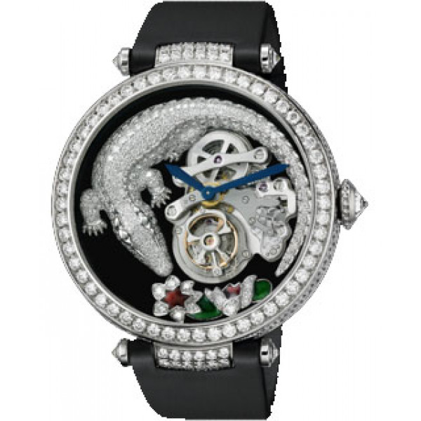 Cartier watches Tourbillon Crocodile Limited Edition 50