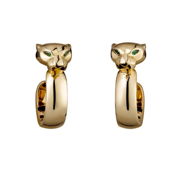 Серьги Cartier Panthere de Cartier, желтое золото