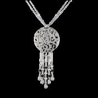Колье Cartier Panthere de Cartier, белое золото, бриллианты, изумруд, оникс