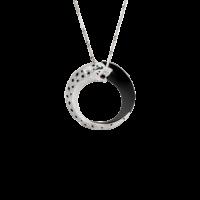 Подвеска Cartier Panthere de Cartier, белое золото, изумруды, бриллианты