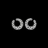 Серьги Cartier Panthere de Cartier, платина, бриллианты, оникс