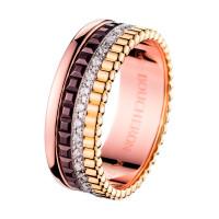 Кольцо Boucheron Quatre, золото, бриллианты
