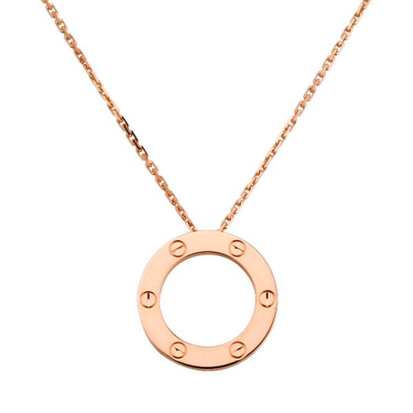 Колье Cartier Love, розовое золото