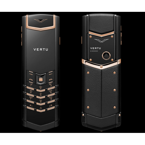 Vertu Signature S Design Steel PVD Red Gold