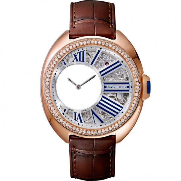 Cle de Cartier, розовое золото, бриллианты
