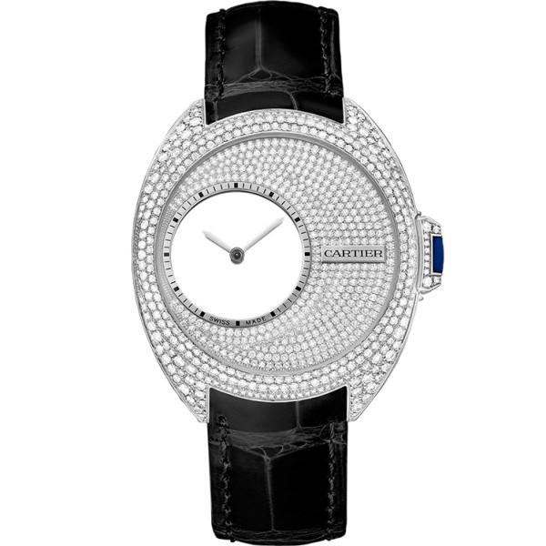 Cle de Cartier, палладий, бриллианты