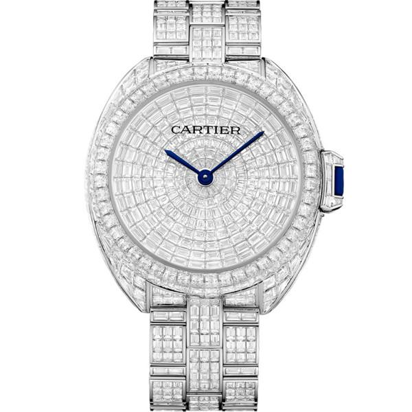 Cle de Cartier Limited Edition 5, белое золото, бриллианты