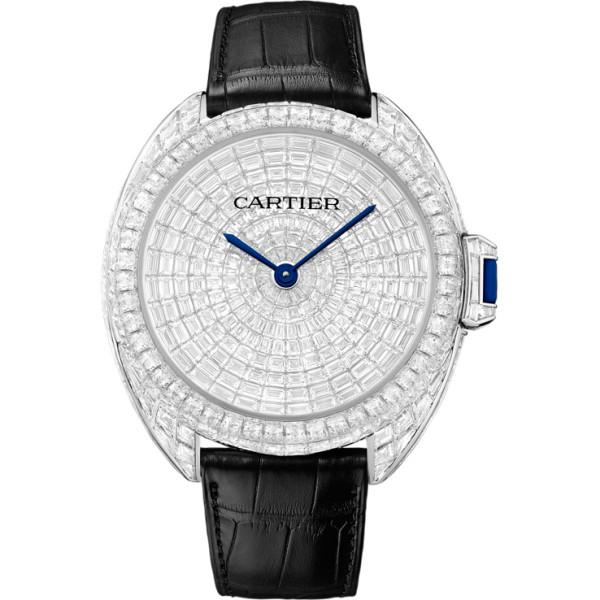Cle de Cartier Limited Edition 20, белое золото, бриллианты