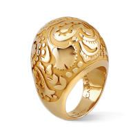 Кольцо Carrera y Carrera Aqua желтое золото