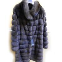 Шуба Romagna Furs, мех соболя