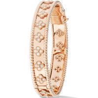 Браслет Van Cleef & Arpels Perlee, розовое золото, бриллианты