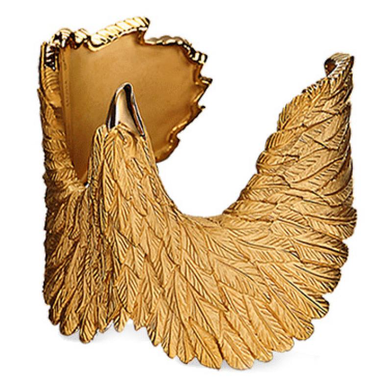 Браслет Carrera y Carrera Bestiario Eagle, желтое золото