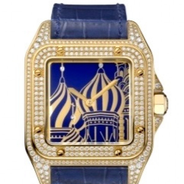 Cartier watches Santos 100