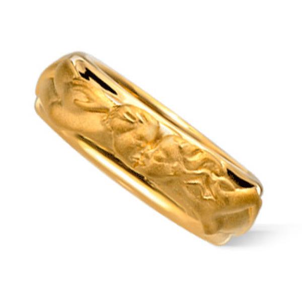 Кольцо Carrera y Carrera Clasicos Promesa, желтое золото