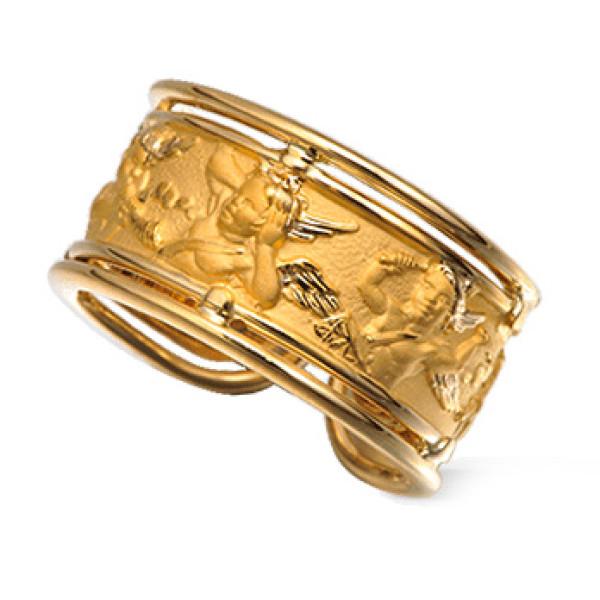 Кольцо Carrera y Carrera Clasicos Ronda, желтое золото