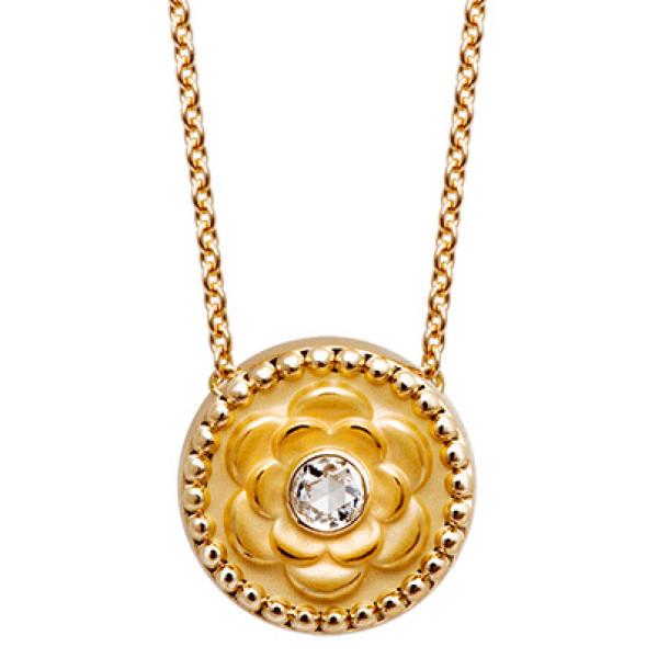 Подвеска Carrera y Carrera Mosaicos, желтое золото, бриллианты