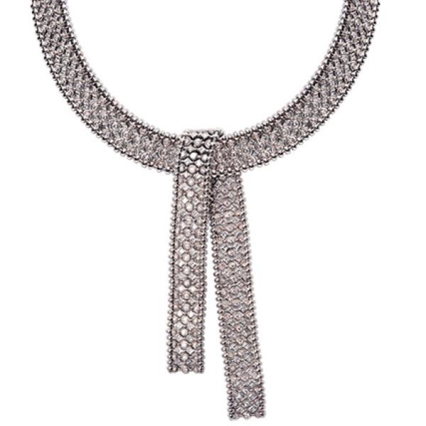 Колье Carrera y Carrera Mosaicos, белое золото, бриллианты