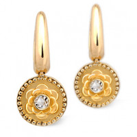 Серьги Carrera y Carrera Mosaicos, белое золото, бриллианты