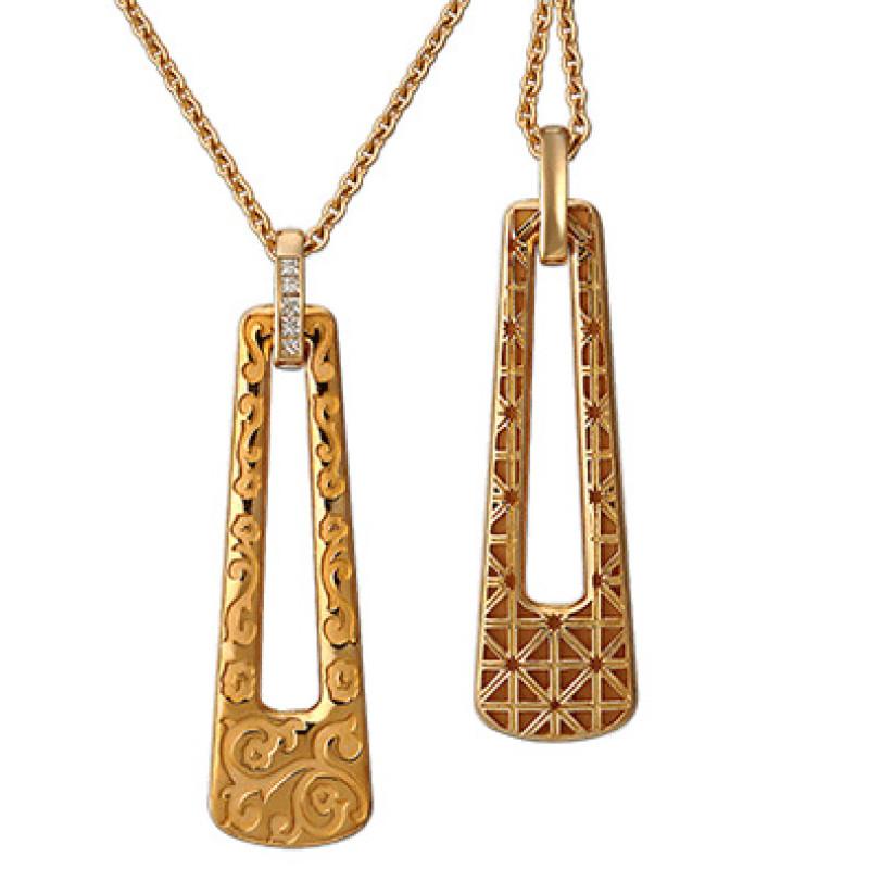 Колье Carrera y Carrera Cordoba, желтое золото, бриллианты