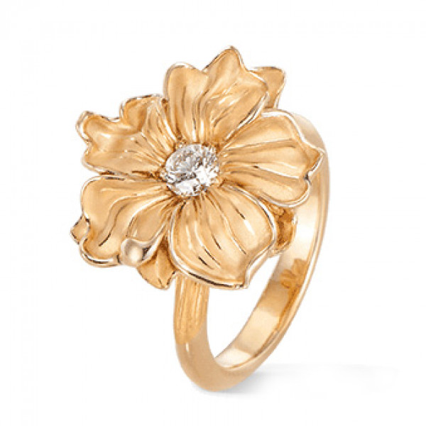 Кольцо Carrera y Carrera Emperatriz, желтое золото, бриллиант