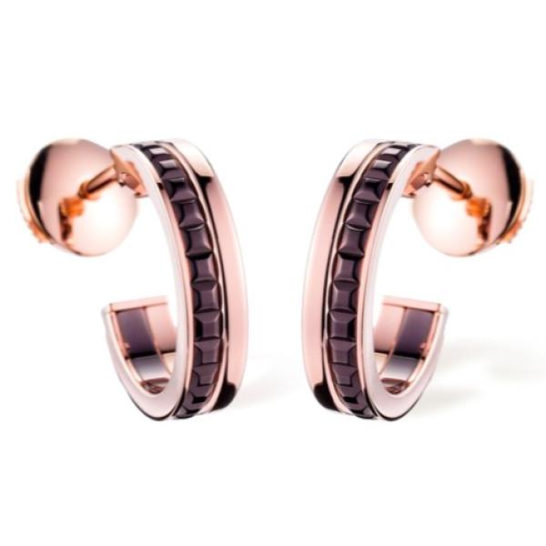Серьги Boucheron Quatre, розовое золото, PVD