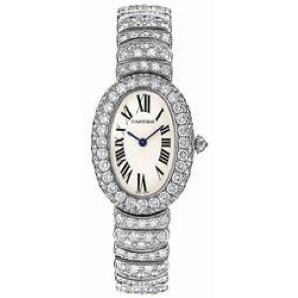 Cartier watches Baignoire 1920 WG Diamond