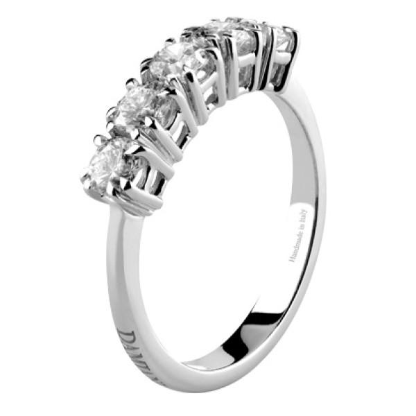 Кольцо Damiani Incanto, белое золото, бриллианты (0,81ct)