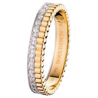 Кольцо Boucheron Quatre, белое, желтое золото, бриллианты