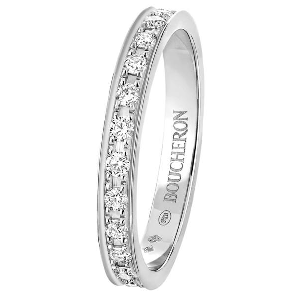 Кольцо Boucheron Quatre, платина, бриллианты