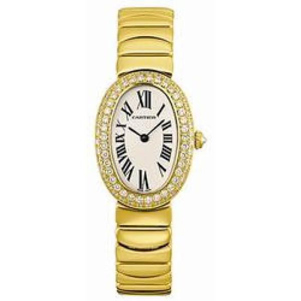 Cartier watches Baignoire 1920 YG Diamond