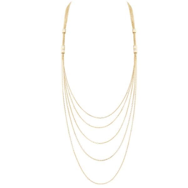 Колье Boucheron Quatre, желтое золото, бриллианты