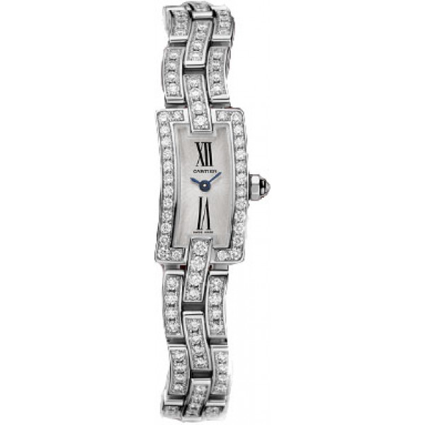 Cartier watches Ballerine mini WG