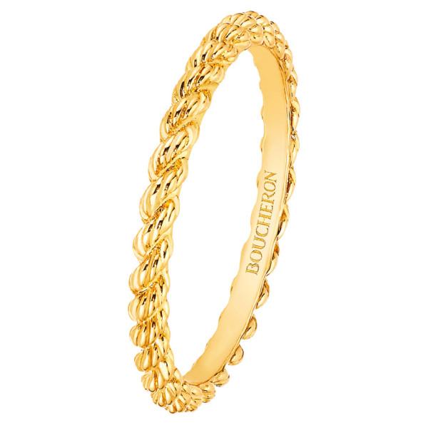 Кольцо Boucheron Serpent Boheme, желтое золото