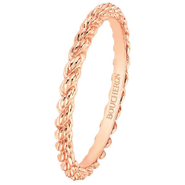 Кольцо Boucheron Serpent Boheme, розовое золото