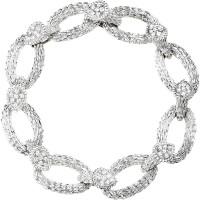 Браслет Boucheron Serpent Boheme, белое золото, бриллианты