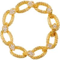 Браслет Boucheron Serpent Boheme, желтое золото, бриллианты