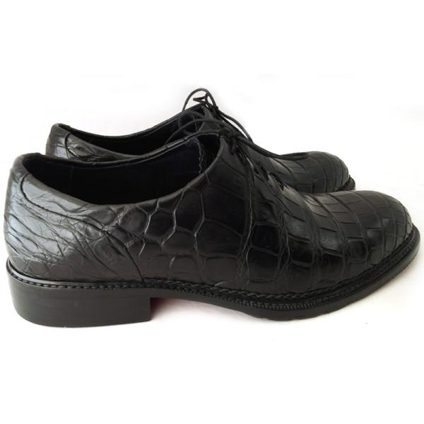 Туфли Louis Vuitton, кожа крокодила