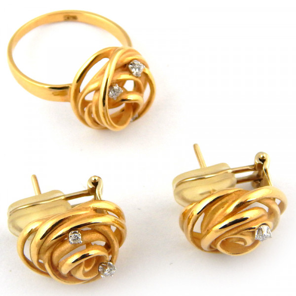 Набор Annamaria Cammilli, золото 750, бриллианты