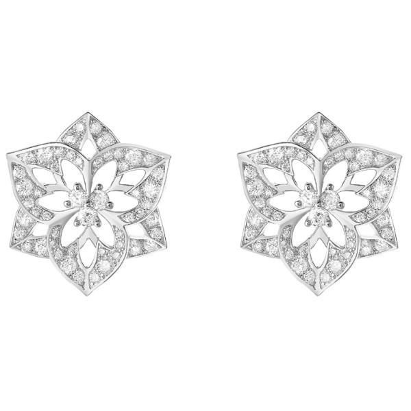 Серьги Boucheron Pensee de Diamants, белое золото, бриллианты