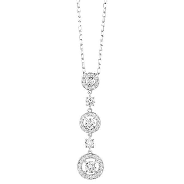 Подвеска Boucheron Ava, белое золото, бриллианты