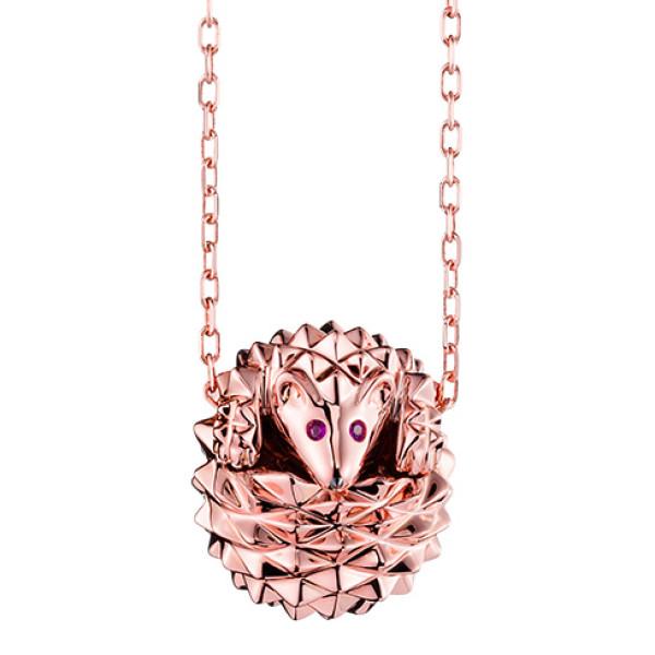 Подвеска Boucheron Animals Hans, розовое золото