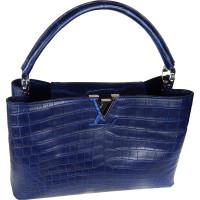 Женская сумка Louis Vuitton, кожа крокодила