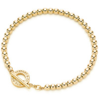 Браслет Tiffany & Co. Beads, желтое золото