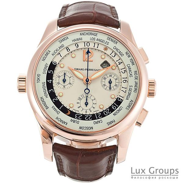 Girard Perregaux World Time WW.TC Chronograph
