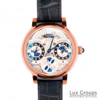 Bovet Dimier Recital 17 7-Day Triple Time Zone Moon Phase LE100
